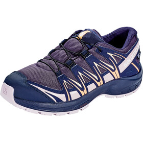 Salomon XA Pro 3D CSWP Chaussures Adolescents, sweet grape/evening blue/mauve shade